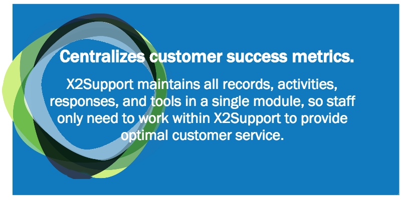 Centralizes customer success metrics.