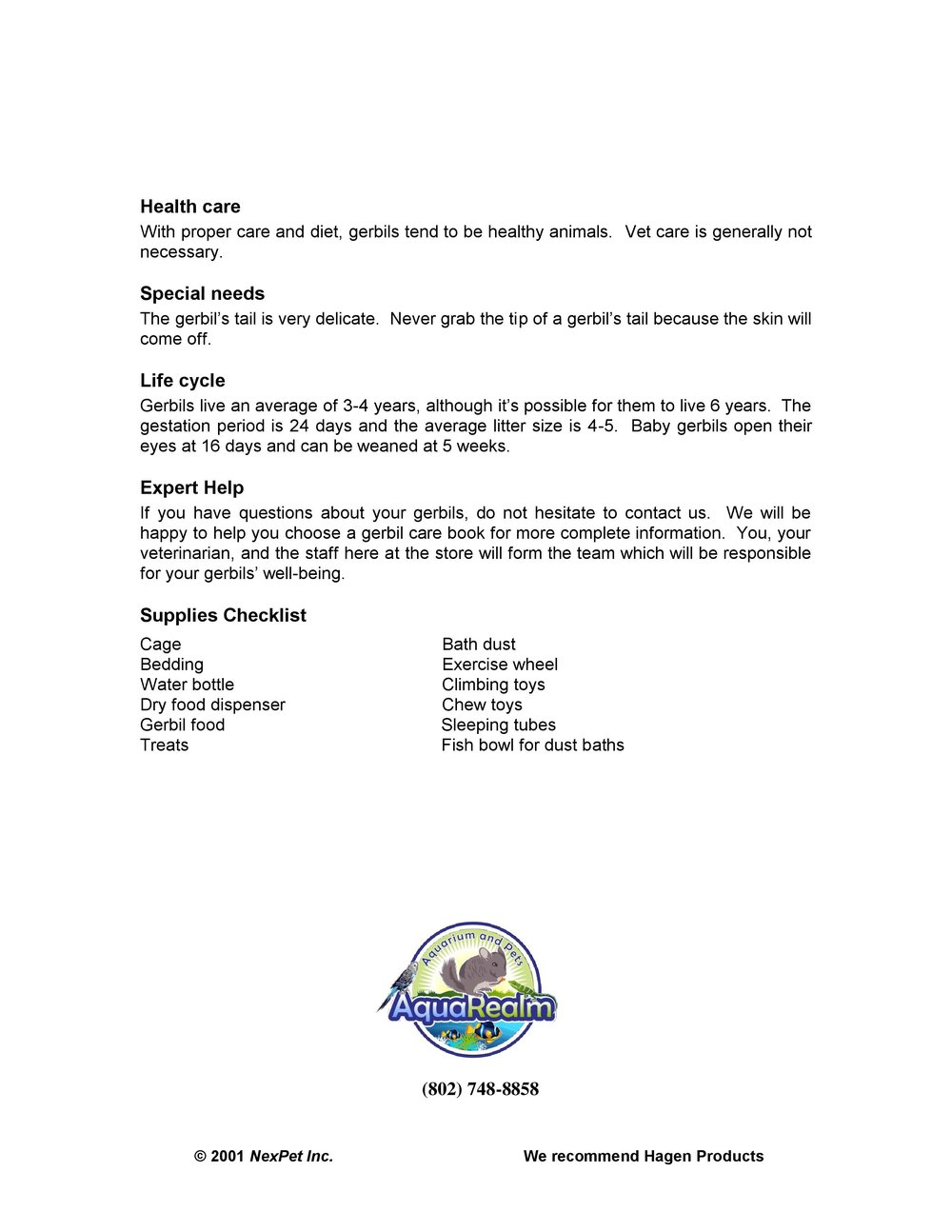 Fixed Gerbil Care Sheet pg2