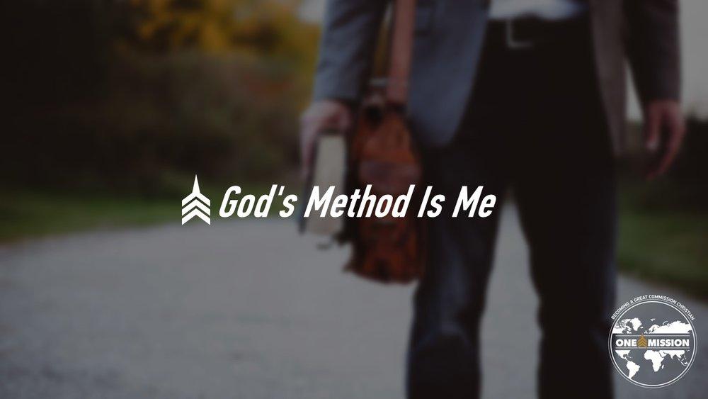 20180121 God's Method Is Me.JPG
