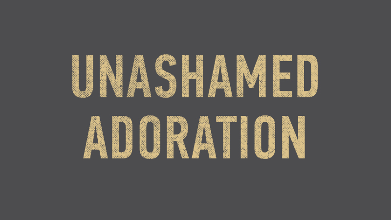 20150118 Unashamed Adoration.jpg
