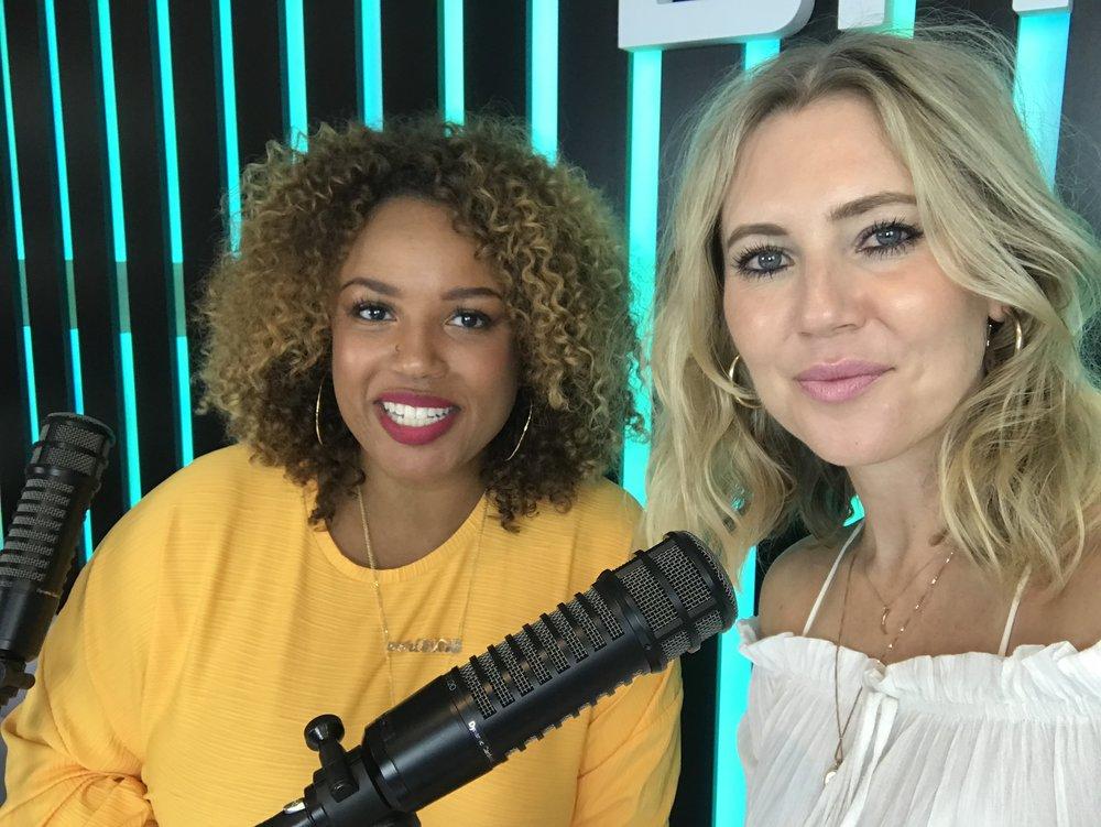 Janeé Bolden, current Managing Editor of bossip.com, 'Top Talker', CBS Talk and radio host, presenter with host Georgii Speakman