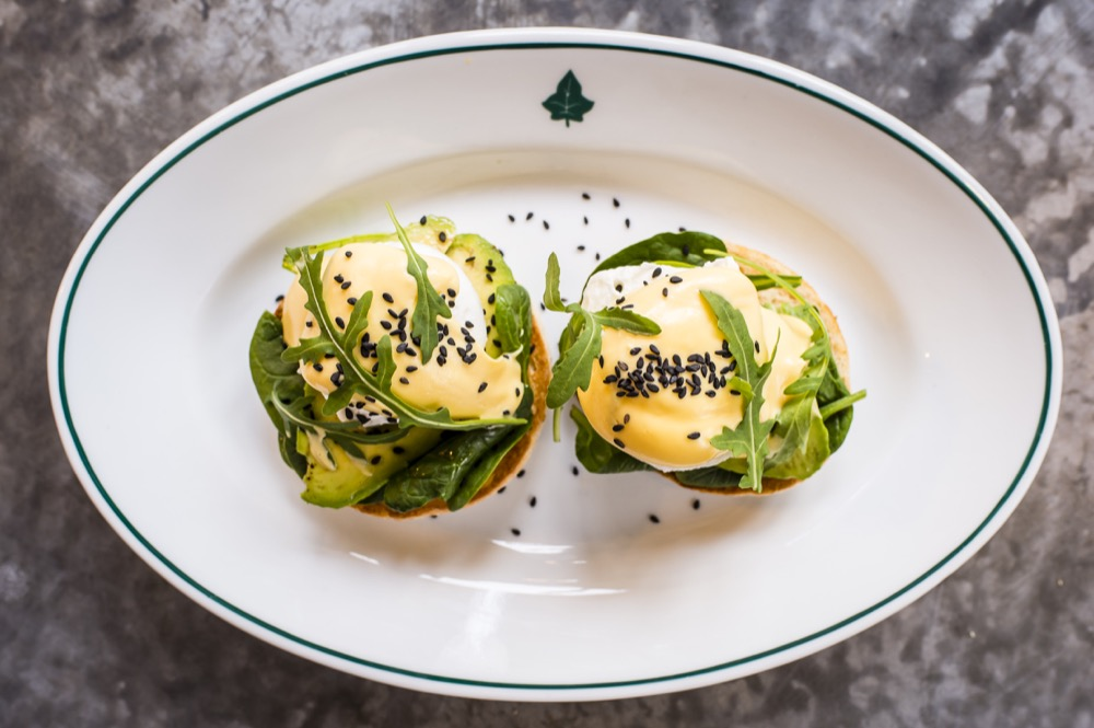 The Ivy Collection avocado with spinach Benedict.jpg