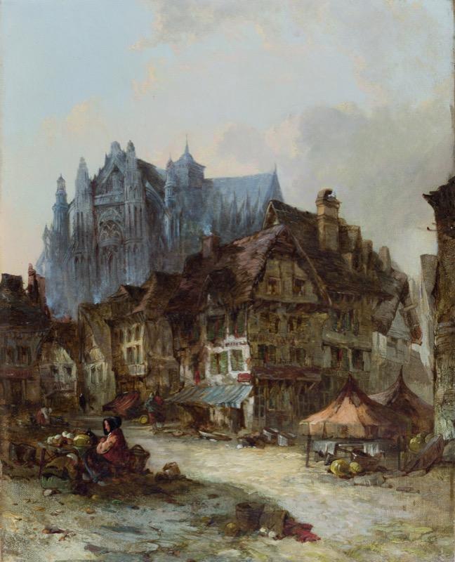 HR CAMBRIDGE FINE ART Alfred Montague A Dutch Street.JPG