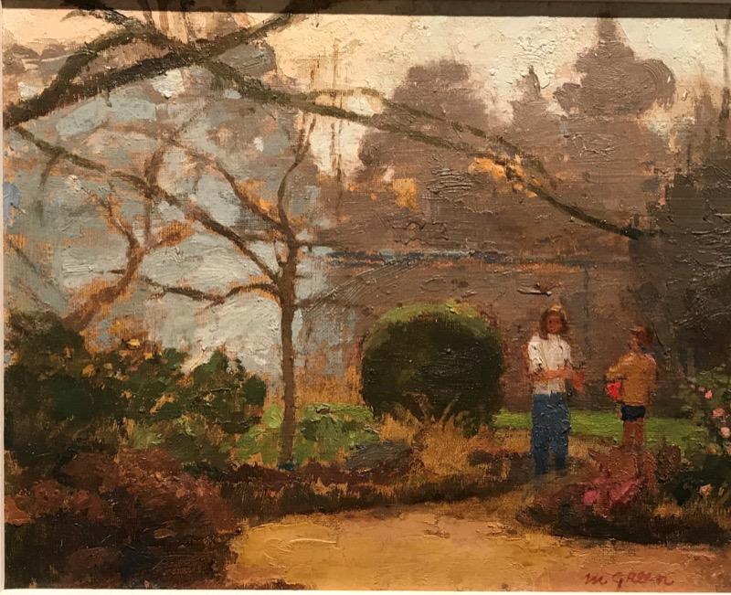 HR GRANTA FINE ART Early Autumn Garden by Margaret Green.jpg