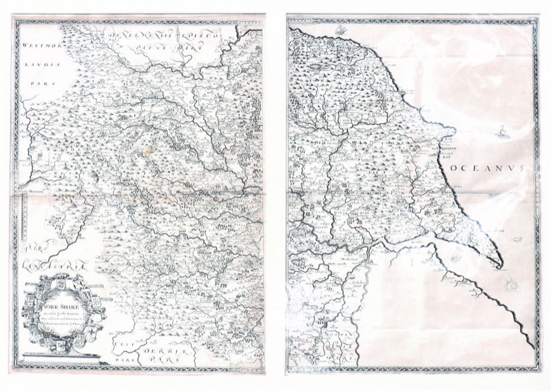 HR J DICKINSON MAPS & PRINTS First ever map of Yorkshire.jpg