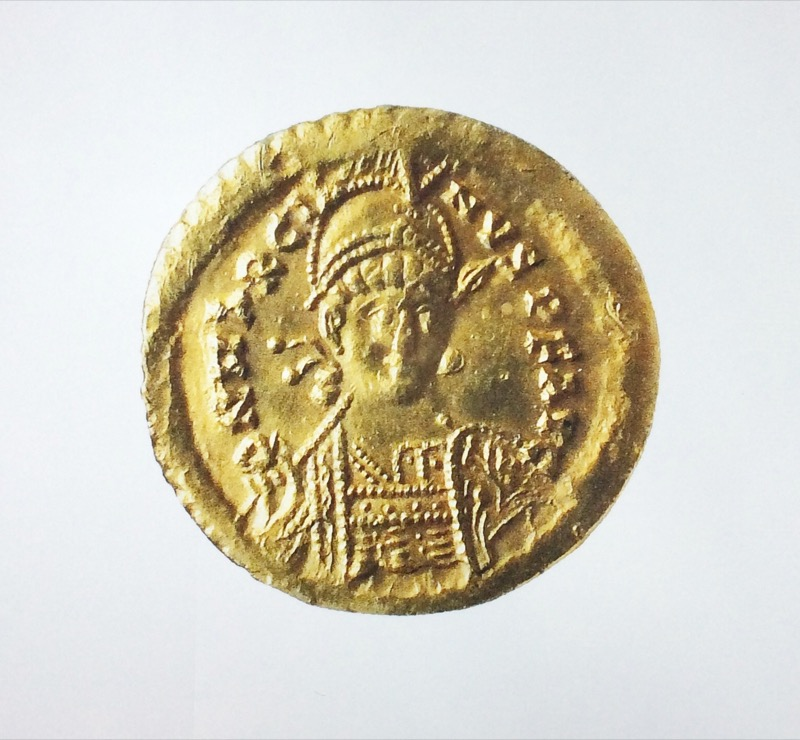 HR ODYSSEY ANTIQUITIES & COINS Byzantine gold solidus of the Emperor Marcia AD450-457.jpeg