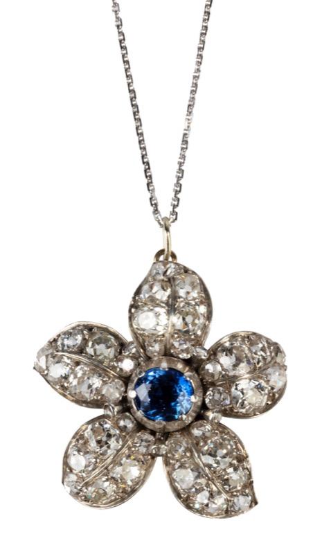 HR T Robert Diamond & sapphire flower pendant.jpg