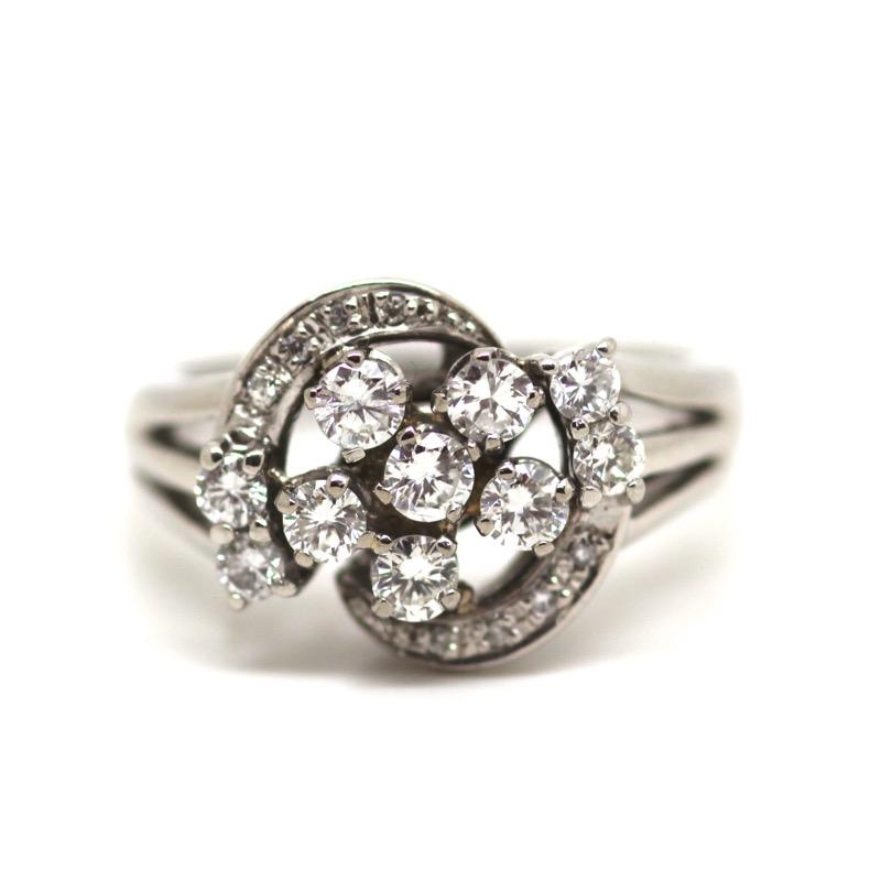 HR GREENSTEIN ANTIQUES Art Deco diamond & platinum ring.JPG