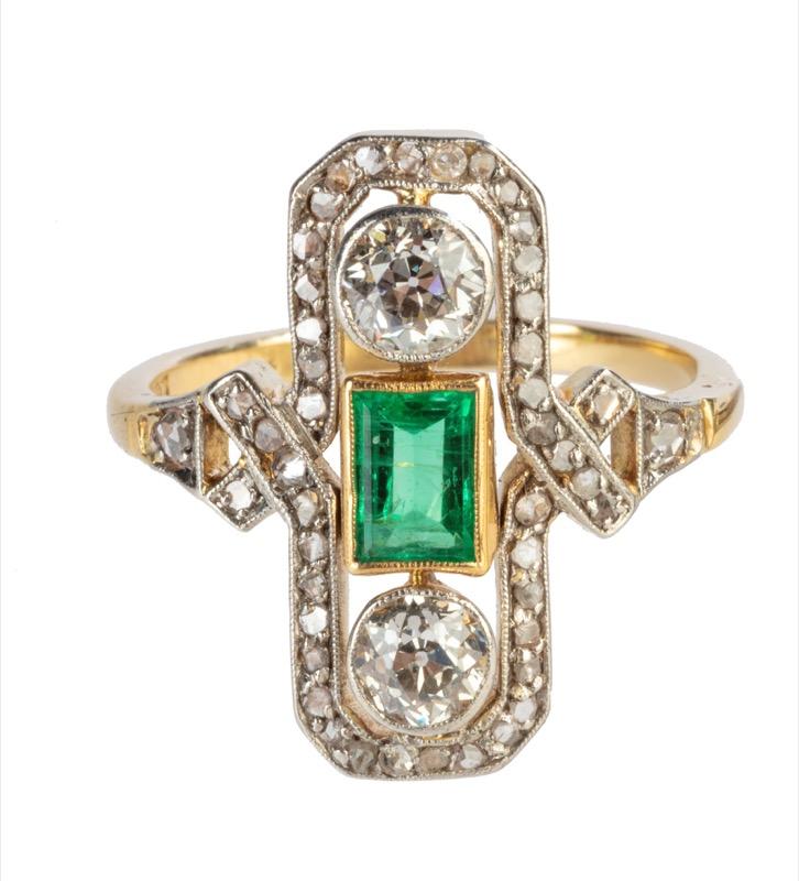 HR T ROBERT diamond & emerald ring.jpg