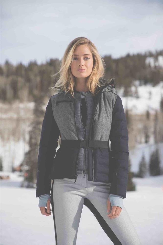 Kat Colour-Block Quilted Merino Wool-BLend Ski Jacket,     £1,245    net-a-porter.com