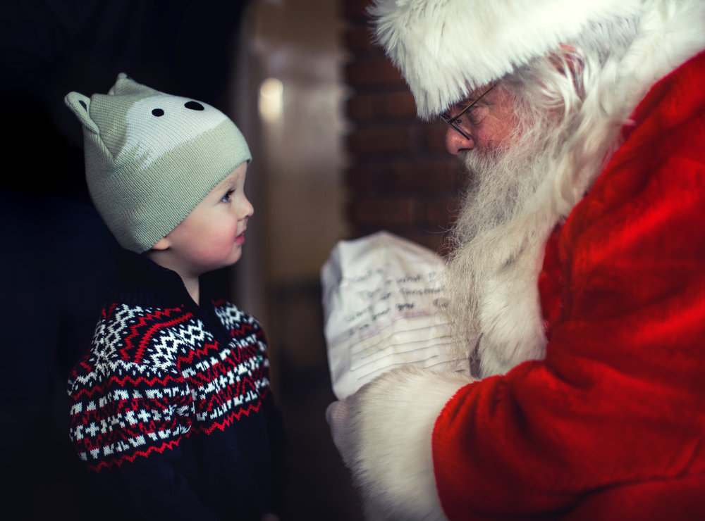 Santa is a giver, a saver and a list maker!