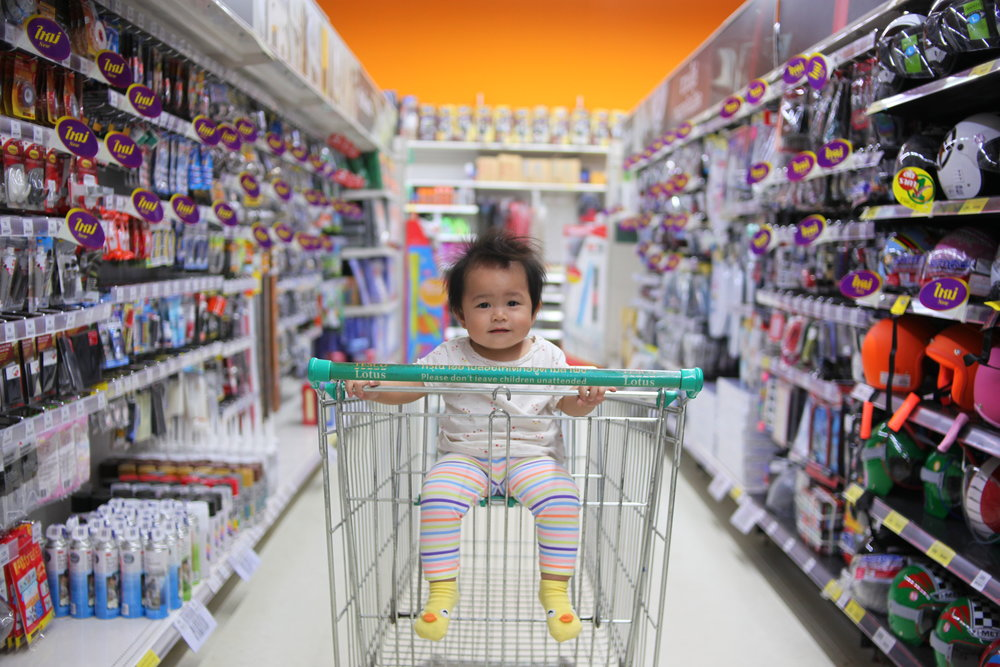 Money lessons can begin at an early age. Simply participating in shopping and observing spending can help introduce the concept of money.