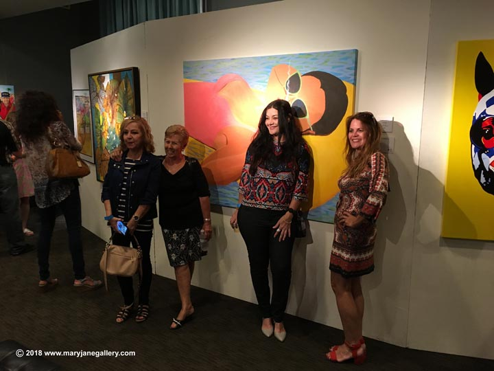 Fans of Charles Lounsberry's Painting Titled Floridaze at Orland
