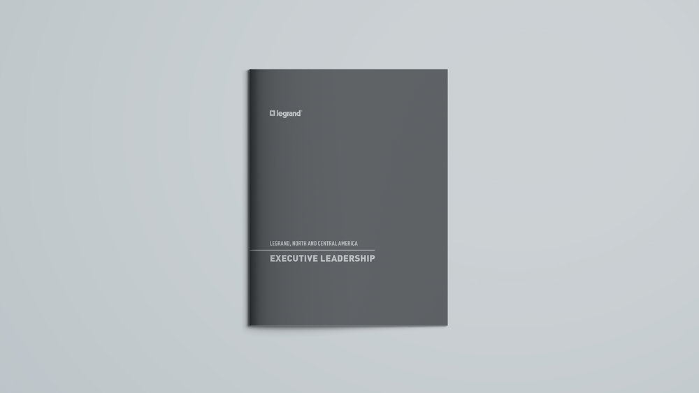 Legrand, North & Central America: Executive Leadership Brochure - Front Cover