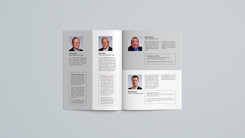 Legrand, North & Central America: Executive Leadership Brochure - Spread 3