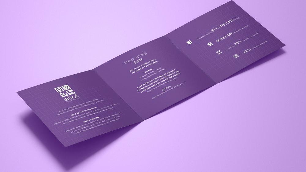 Eliot Program Launch Brochure - Interior