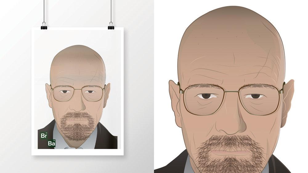 Brian Cranston as Walter White; Heisenberg   As seen in Breaking Bad