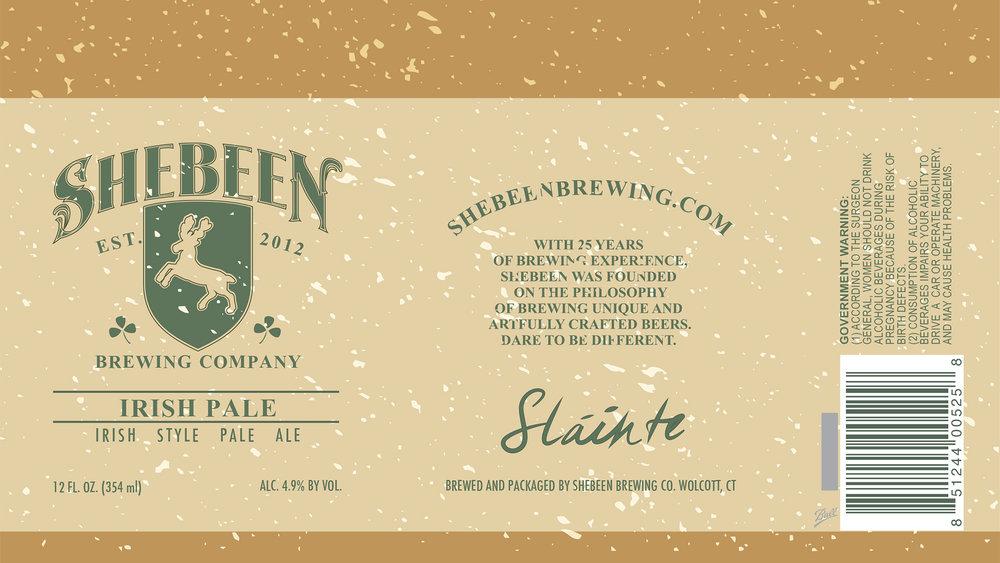 Irish Pale Ale Can design