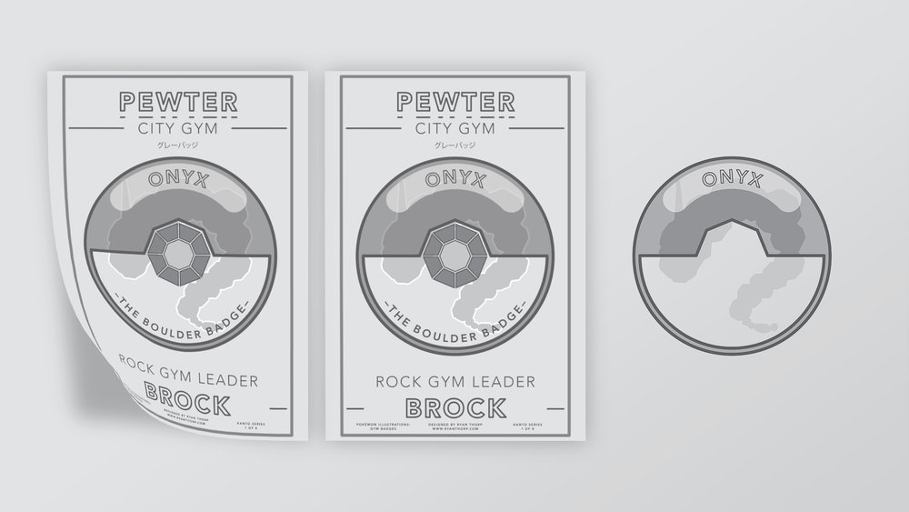 Pewter City Gym Poster