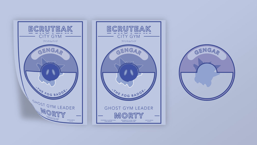 Ecruteak City Gym Poster