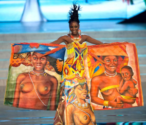 Miss Angola 2012's National Costume