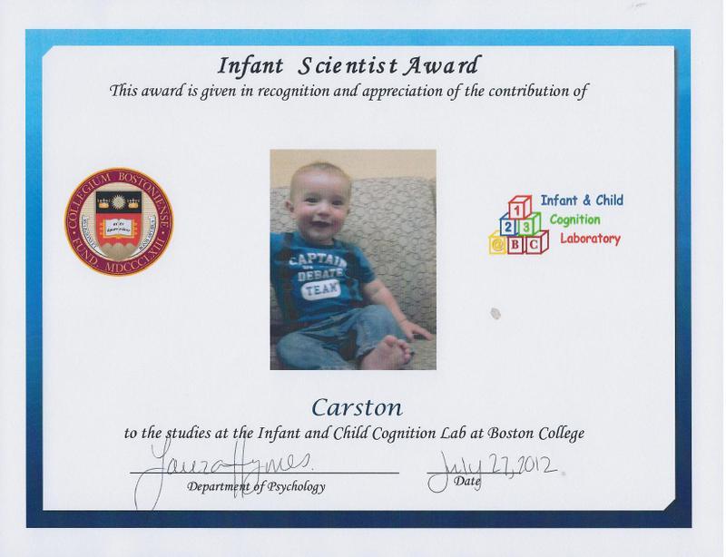 878. Baby Scientist!