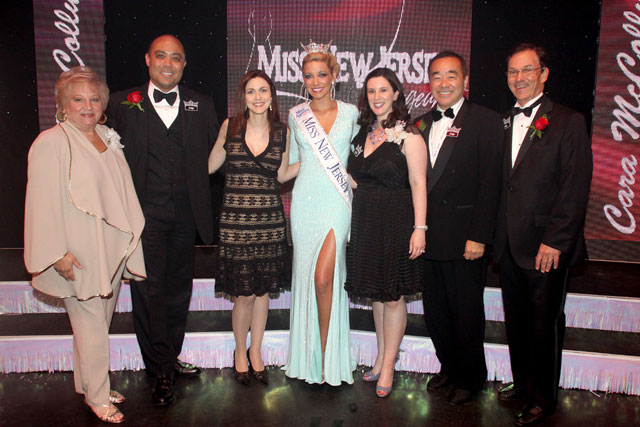 Cara McCollum and Miss NJ Judges, photo credit to Richard Krauss Photography
