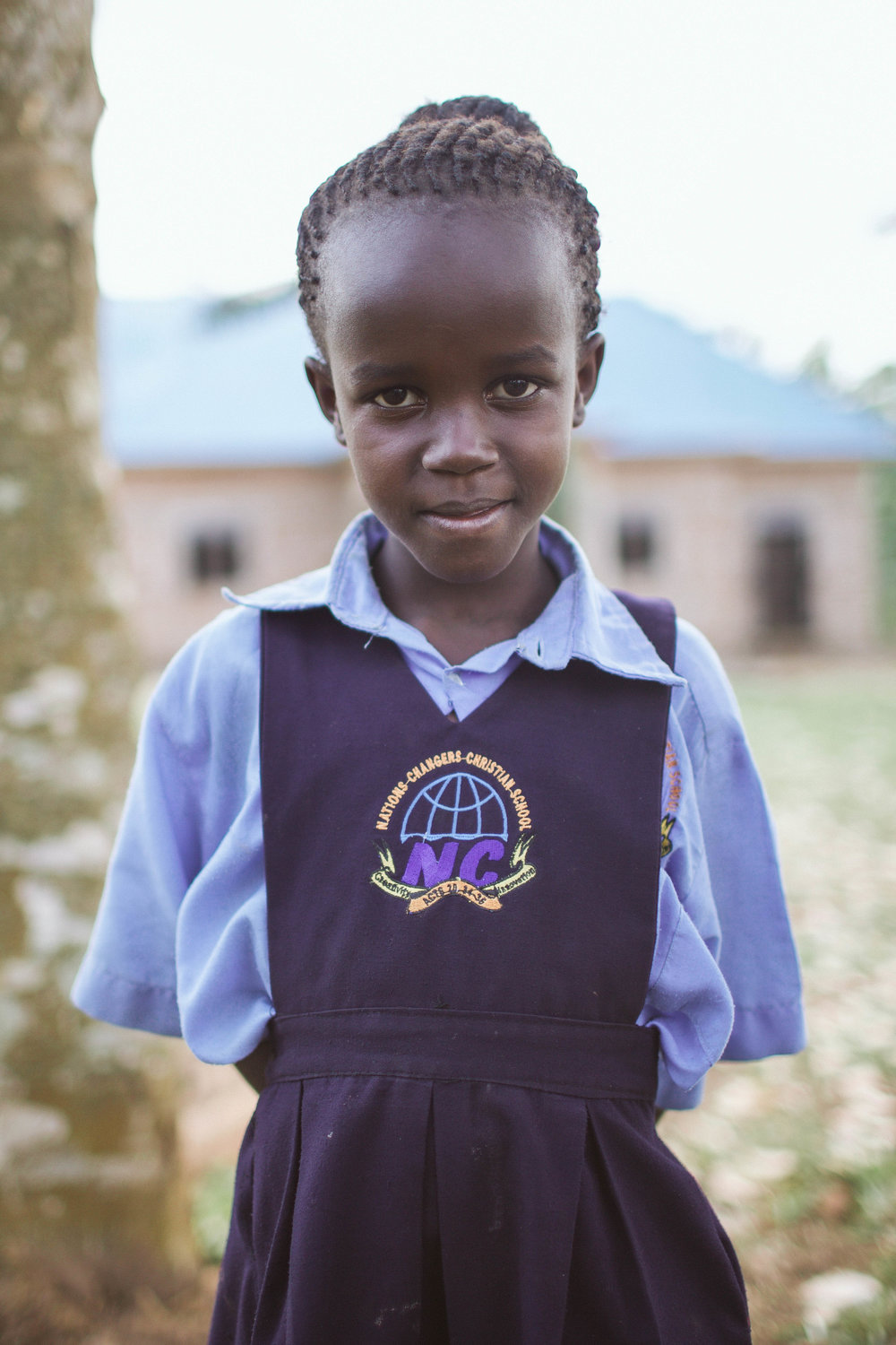 "Catherine Namata - ""I want to help sick people.""Age: 8 