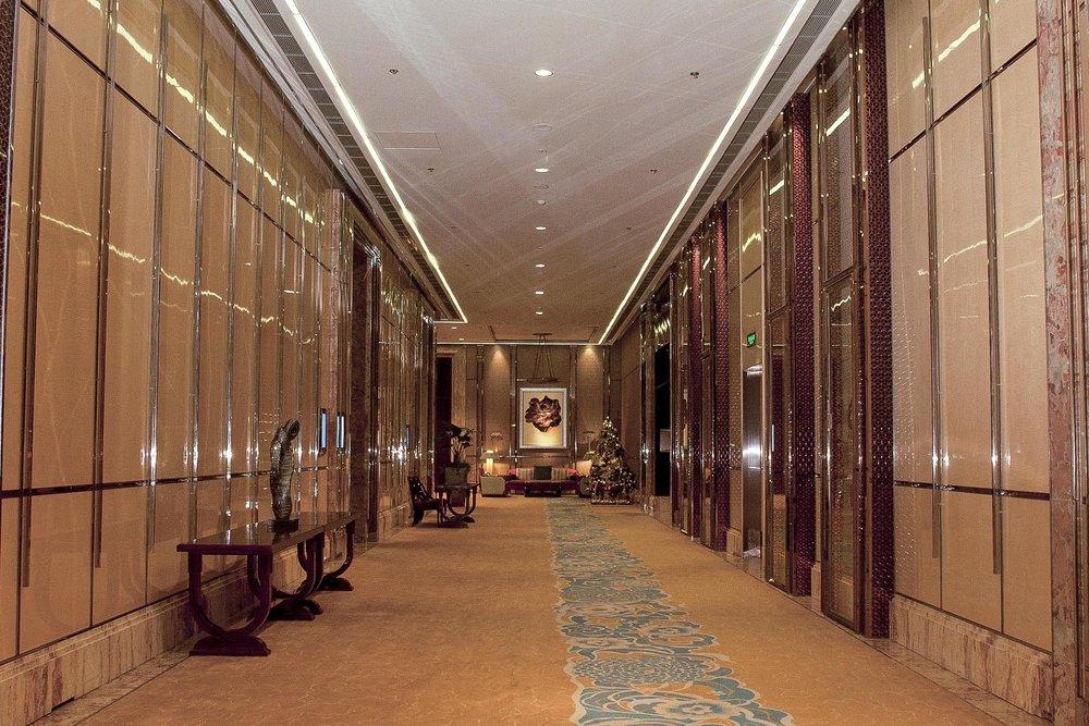 中國上海浦東麗思卡爾頓酒店