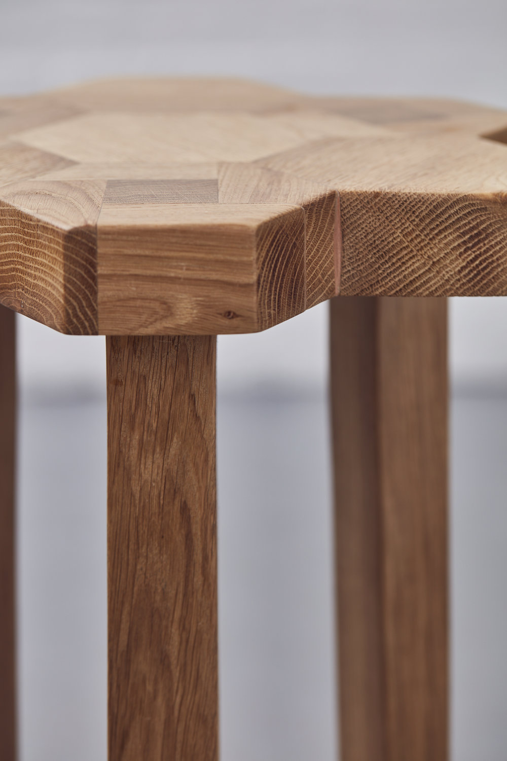 Luster Square Stool