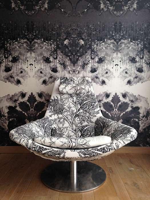 Thistle in Black & White