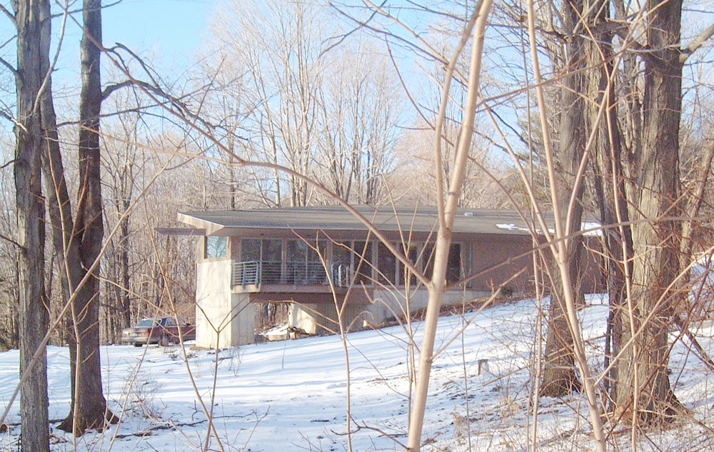 passive solar in the woods of New York