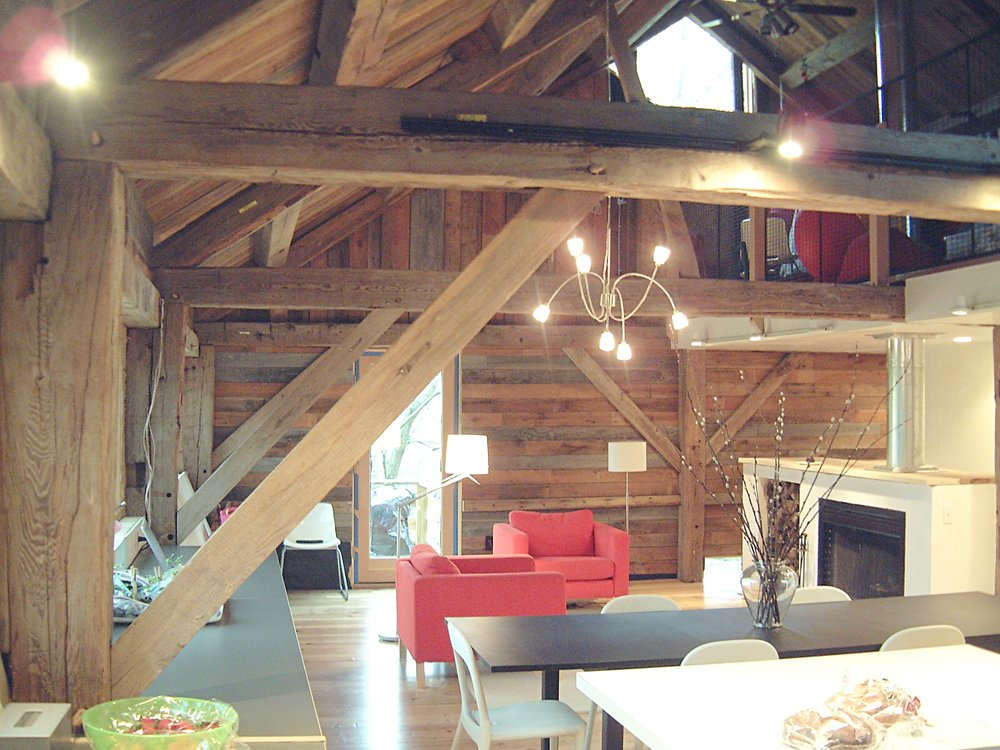 antique barn made modern