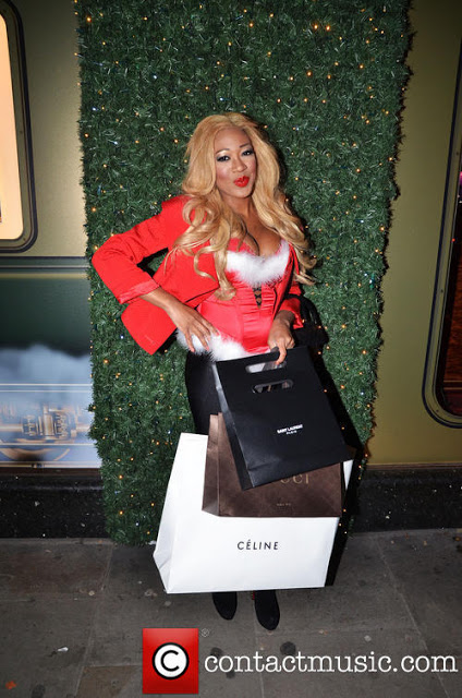 gina rio + christmas + style + shopping + gucci + celine + christian louboutin + saint laurent + ysl + red + sexy santa helper.jpg