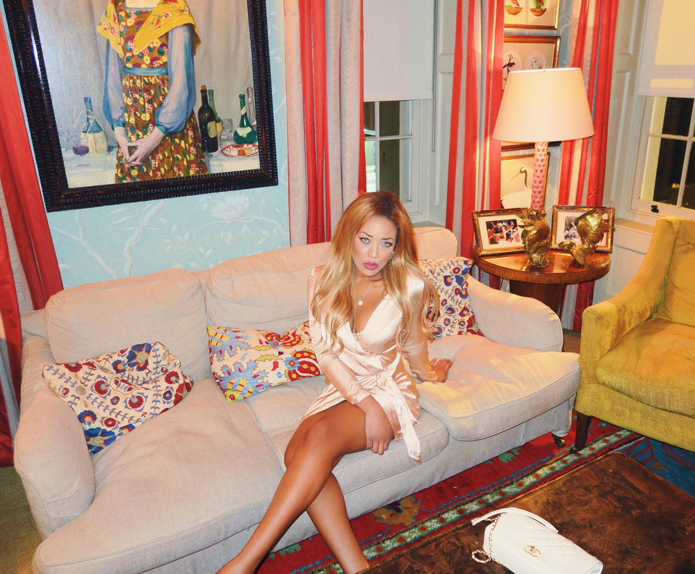 gina rio + georgina rio + celebrity + mayfair + lou lous + 5 hertford street + memebers club + silk dress + blush + hot + sexy + dress + date dress.jpg