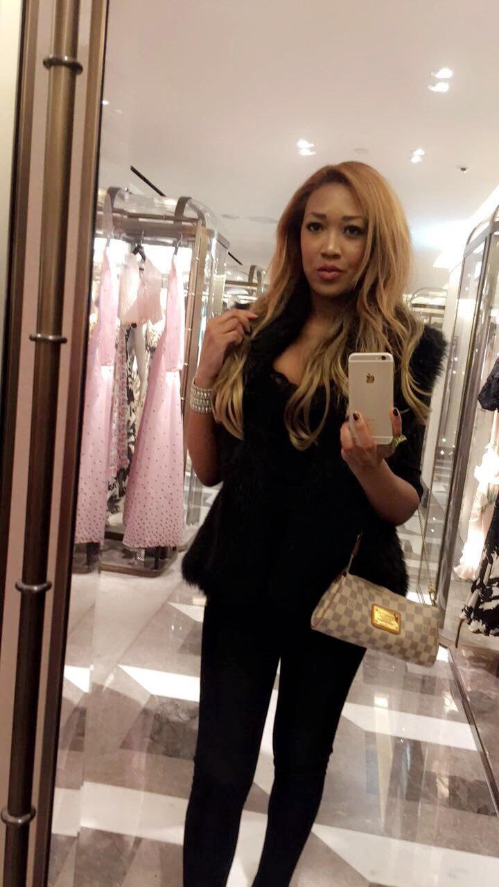 gina rio + shopping + louis vuitton bag + harrods + luxury .jpg