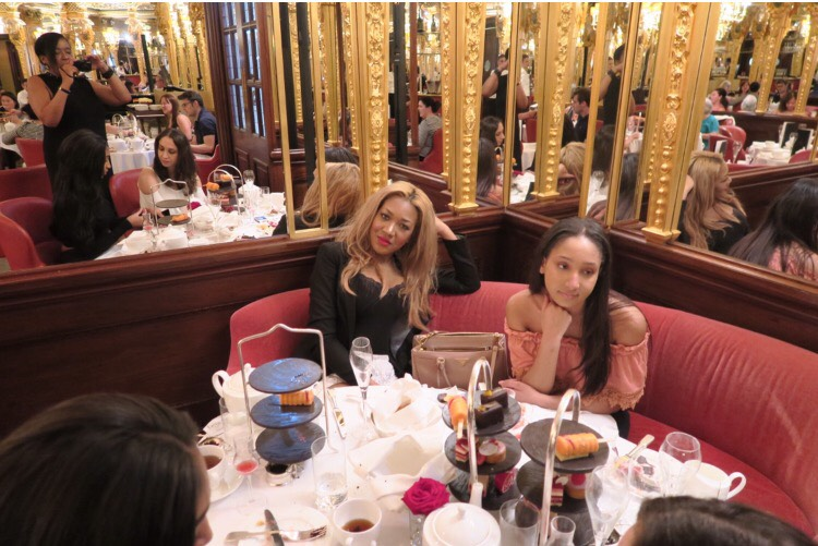 posh + afternoon tea + gina rio family + cafe royal + parents + beautiful family.PNG