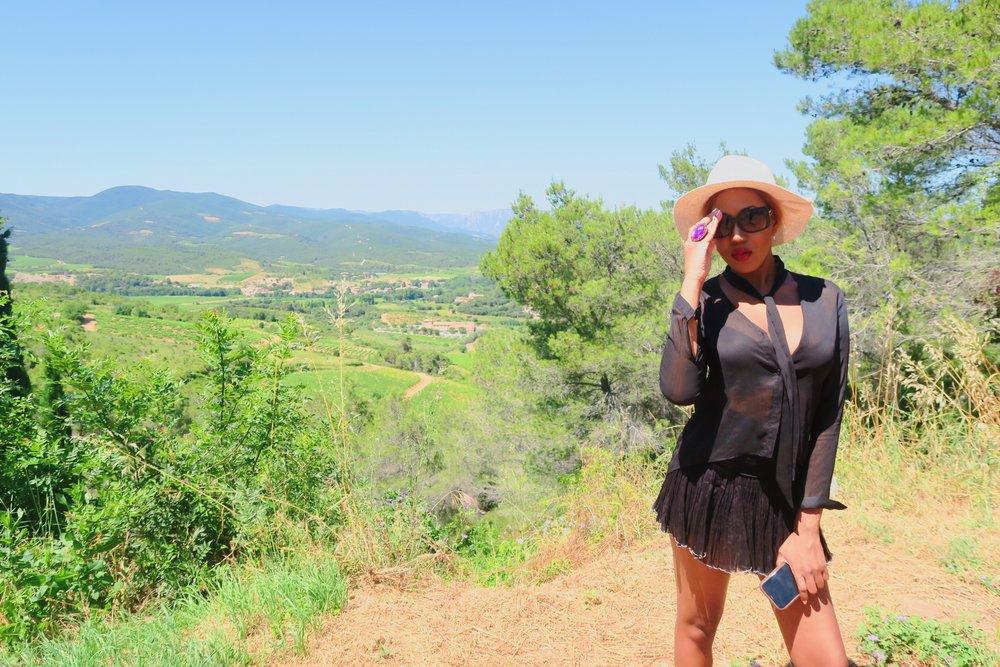 style + fashion + chanel sunglasses + hat + isabel marant frill skirt black + statement ring + ruby woo listick + mac  .jpg