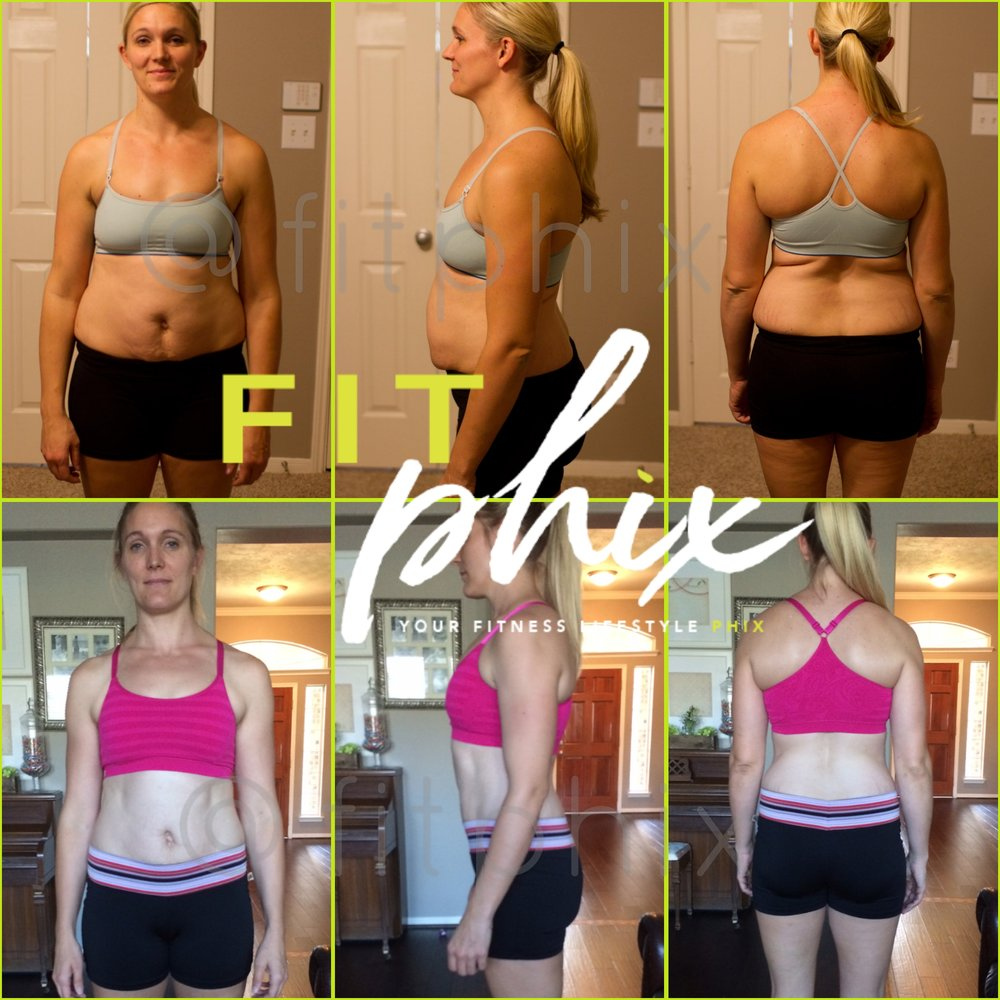 Pre & Post-Natal PHIX  Month to Month monitoring program that you can do at home, or at a gym. Meal plans are greatly designed for the new mother & mother to be. Adjustments are made according to your trimester & status.
