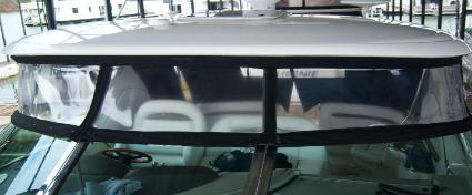 Sea Ray Enclosure After EZ-Xtend Boat Zippers