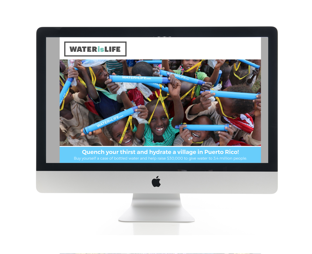 Better World International Water is Life Website