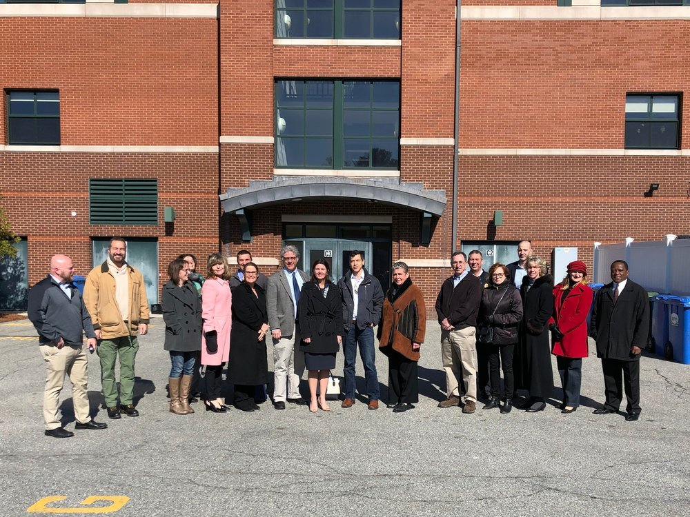 Leaders from the Hopkinton school district and town shared their stories with Representative Dykema and SEBANE member companies Borrego Solar and BlueHub Capital.