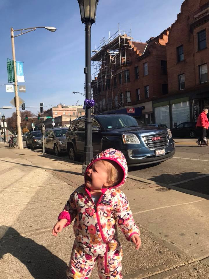 Don't cry, Baby Avery! Parking is more ample than it may appear on your first drive down Oak Park Ave!
