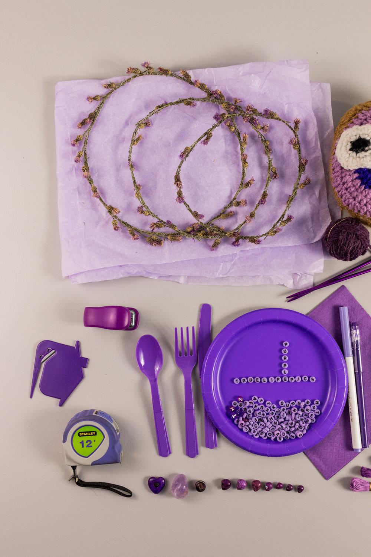 Purple Color Story - Details 02