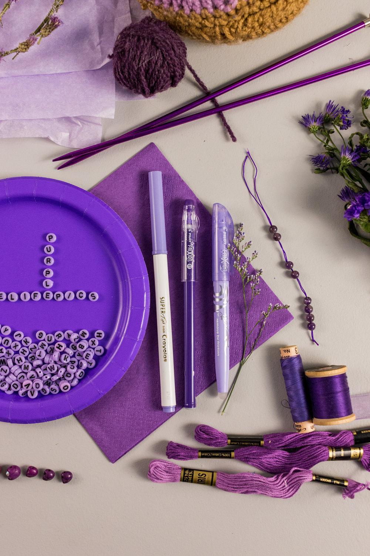 Purple Color Story - Details 04