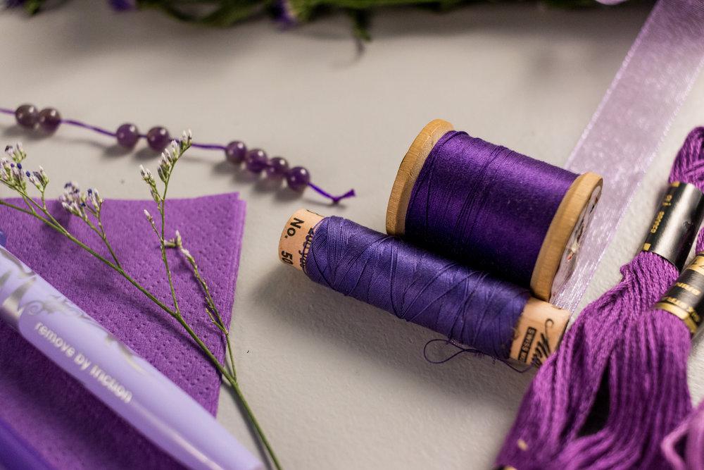 Purple Color Story - Details 10