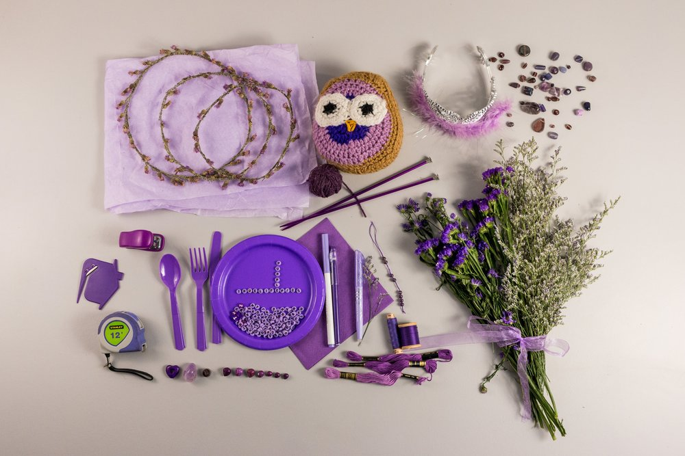 Purple Color Story -  May 2018