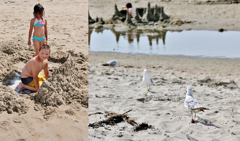 Sand and castles... June 2014