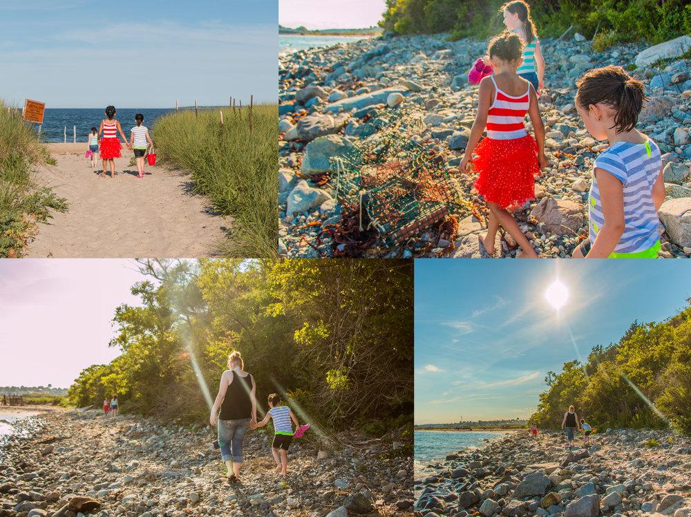 Along the rocky sea shore... August 7, 2015