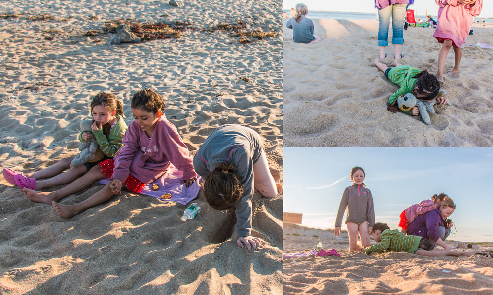On the sand... August 7, 2015